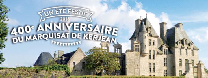 400e ANNIVERSAIRE DU MARQUISAT DE KERJEAN, tout l'été au Château de Kerjean