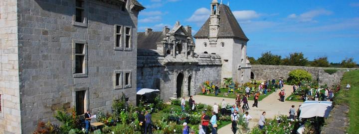 JOURNÉES DES PLANTES DE COLLECTION, le samedi 26 et le dimanche 27 septembre au Château de Kerjean