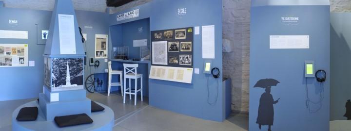 MA PAROLE ! L'ABBAYE DU RELEC AU 20e SIÈCLE, exposition permanente à l'Abbaye du Relec
