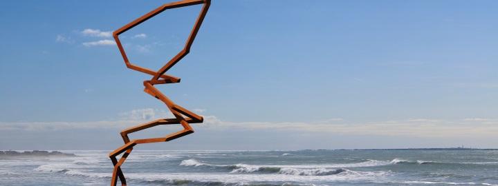 ROBERT SCHAD, parcours de sculptures monumentales, à partir de mars