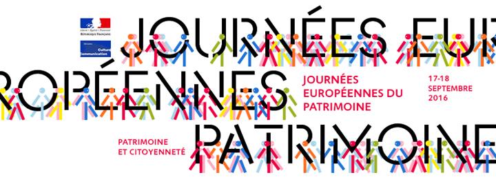 JOURNÉES EUROPÉENNES DU PATRIMOINE, week-end du 17 et 18 septembre