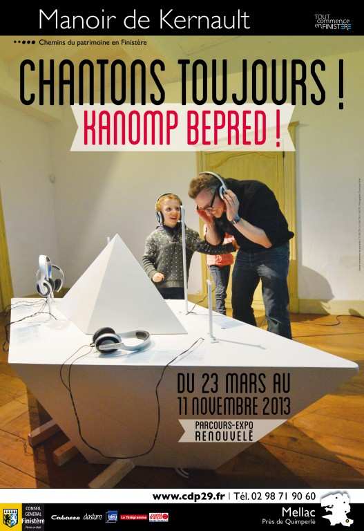 "Affiche ""Chantons toujours ! Kanom bepred !"" (2013)"